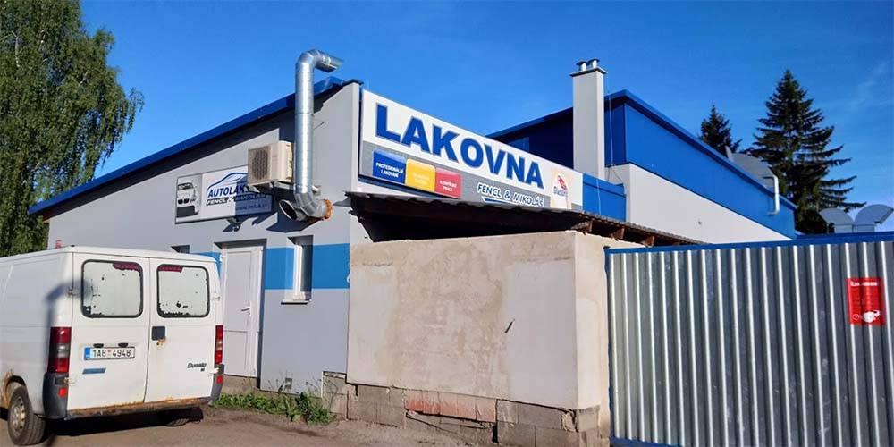 FM lak autolakovna České Budějovice